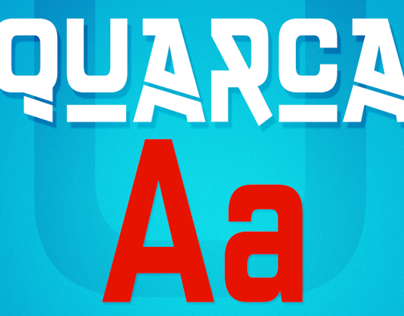 Quarca, a bold and self-assured squared sans.