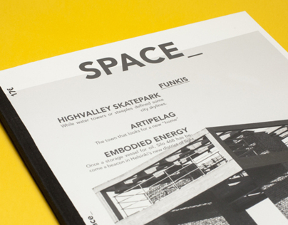 Architecture Magazine, Space_
