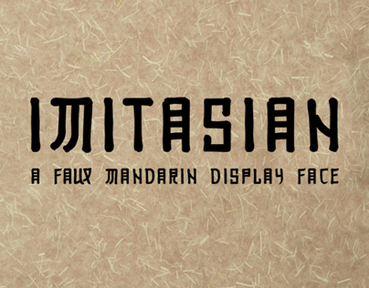 Imitasian Display Face