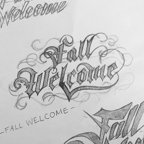 Lettering and Illustration Examples | Instagram Photos