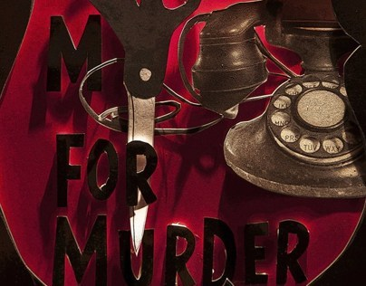 Dial M for Murder Poster Design