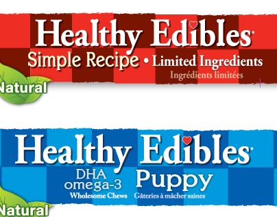 Healthy Edibles Logo refinement/update