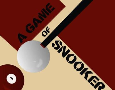 Lets play a game of snooker