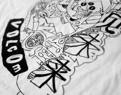 Volcom x Jellymon LTD edition T-Shirt