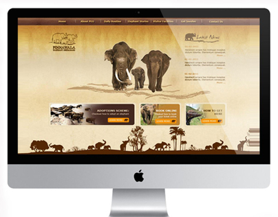 Pinnawala Elephant Orphanage concept design