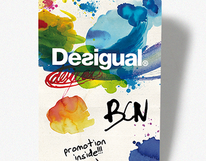 Desigual BCN Pocket Map