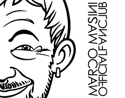 Marco Masini Official Caricature