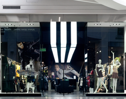 The first implementation of Adidas new concept shop