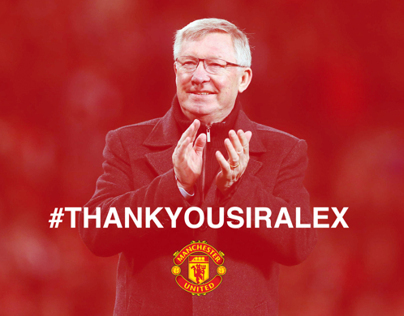 #THANKYOUSIRALEX | Tribute poster