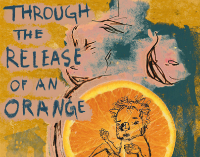 Through the Release of an Orange poster/cover