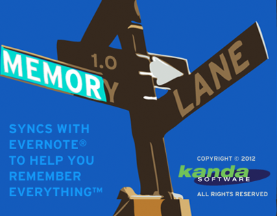 Memory Lane Mac OSX App for Evernote