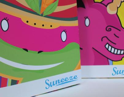 Suneeze Tissue box design