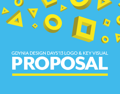 GDD logo&key visual proposal