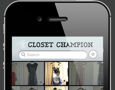 Pocket Closet App Conception