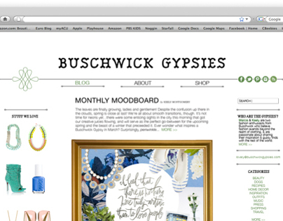 Gypsies Blog Conception