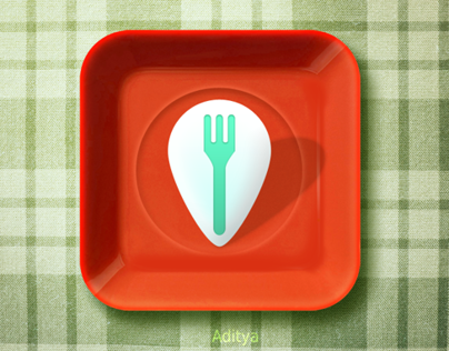 Dish Locator ios icon