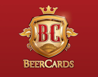 3D Packshot Beer Cards