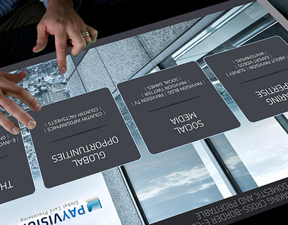 User interface design Interactive Table for Payvision