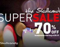 Skullcandy Supersale