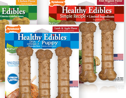 Healthy Edibles Rebranding and Line Extension