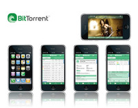 BitTorrent iPhone Application