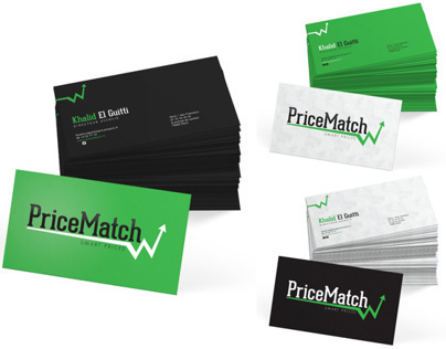 PriceMatchs business cards