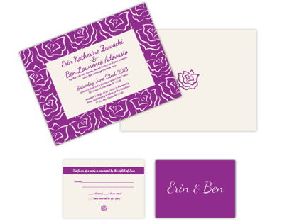 Wedding Invitation - set