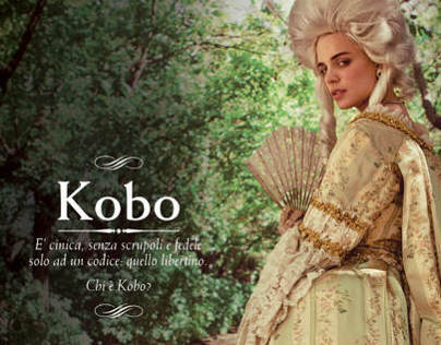 """Who is Kobo?"" Campaign for Mondadori©"