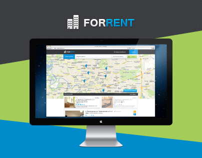 UI/UX, Web Design for ForRent project