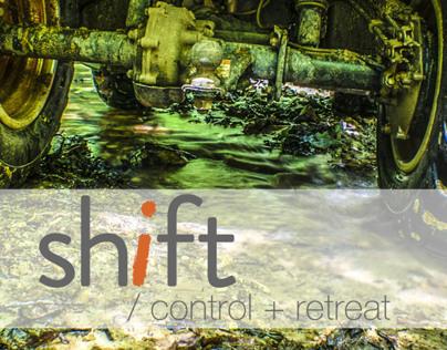 SHIFT/ control + retreat