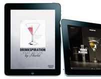 iPad App - Drinkspiration Home Edition by Absolut Vodka