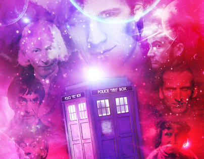 Doctor Who 50th Posters