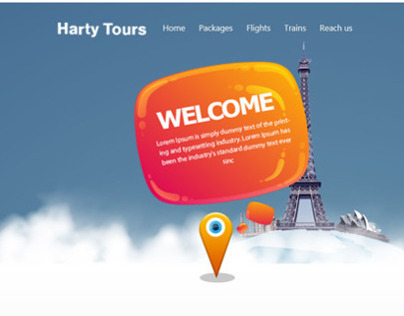 Harty Tours Website