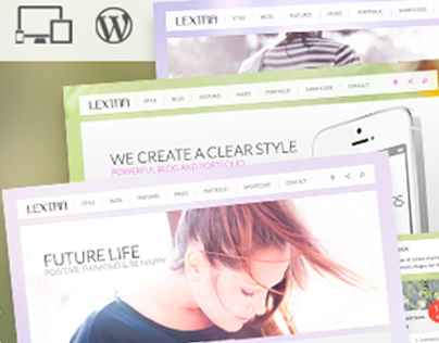 Lextra - Clear Style Wordpress Theme