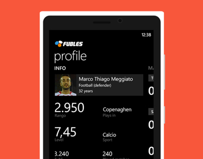 Fubles - Windows Phone 7, 8