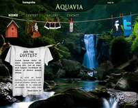 Web Design for Photo Contest