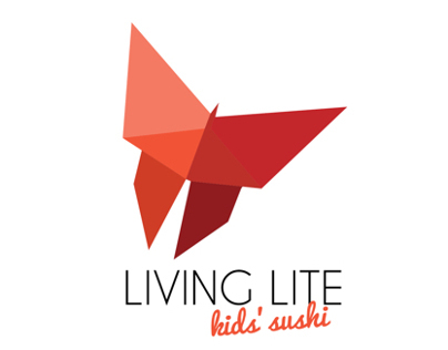 Living Lite: Kids Sushi Brand Identity