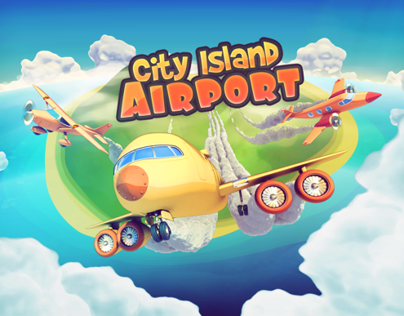 City Island: Airport game graphics