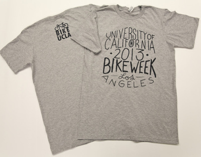 Bike to Campus Week Tees