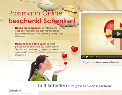 Rossmann Online-Shop, Promotions