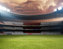 SABC 3 / EURO 2008 Mattepainting and Design
