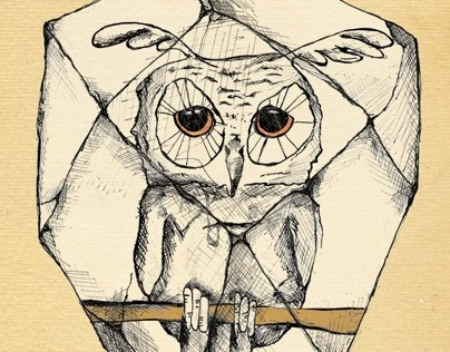 Book Illustration - The Stone Owl