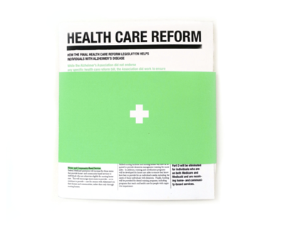 Health Care Reform Zine