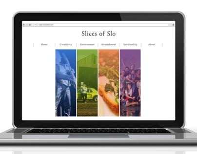Slices of SLO website