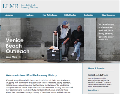 LLMR - Site Redesign
