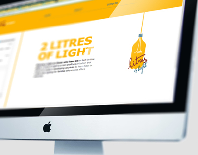 2 Litres of Light — Web Design and Development