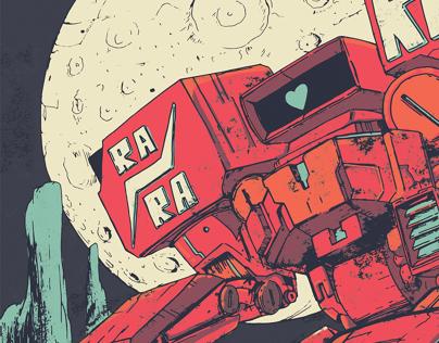 Ra Ra Riot Gig Poster