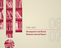 Development and Alumni Relations 06-07 Annual Report