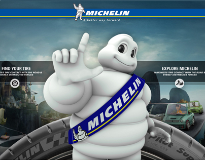 Michelin Dealership Touchscreen