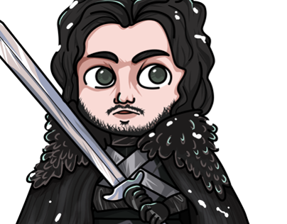 Step by step - Jon Snow. ABC